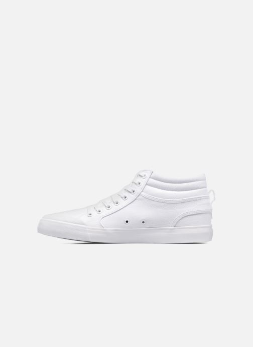 Deportivas DC Shoes Evansmith Hi Tx M Blanco vista de frente
