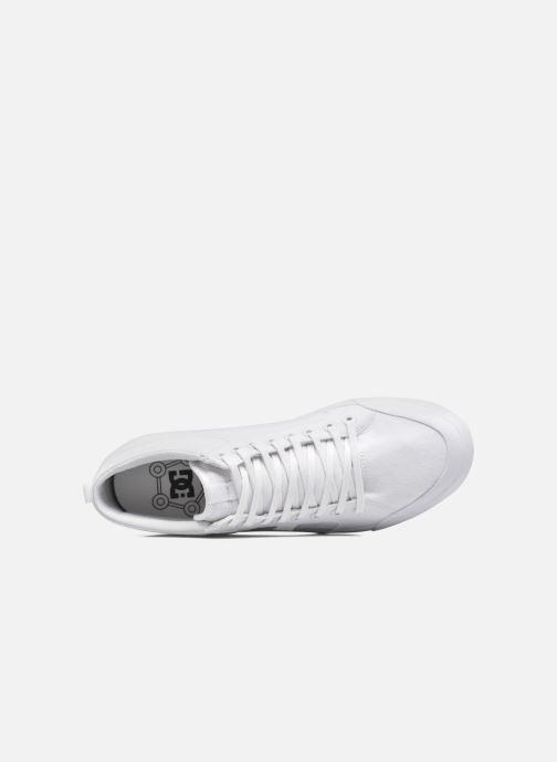 Deportivas DC Shoes Evansmith Hi Tx M Blanco vista lateral izquierda