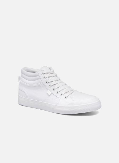 Deportivas DC Shoes Evansmith Hi Tx M Blanco vista de detalle / par