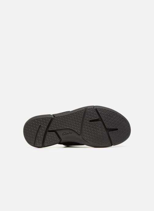 Sandales et nu-pieds Clarks Trisand Cross Noir vue haut
