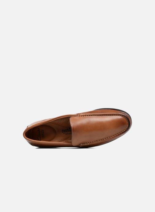 Tan Mocassins Leather Clarks Claude Plain MVzpUqGS