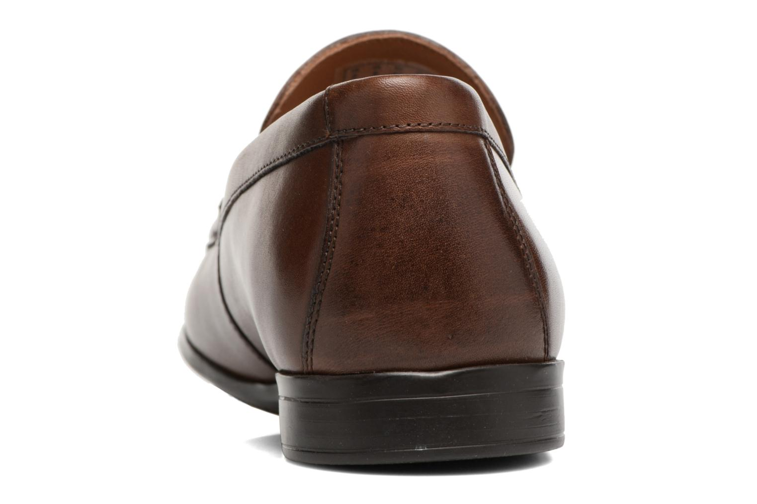 Mocassini Clarks Claude Plain Marrone immagine destra