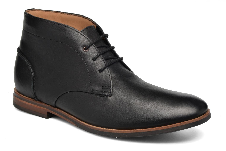 Black Black Leather Clarks Mid Broyd Clarks Leather Broyd Mid 4ASRjqc5L3