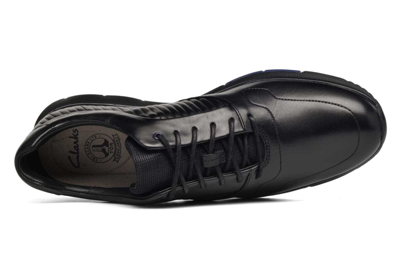 Sneakers Clarks Tynamo Race Nero immagine sinistra