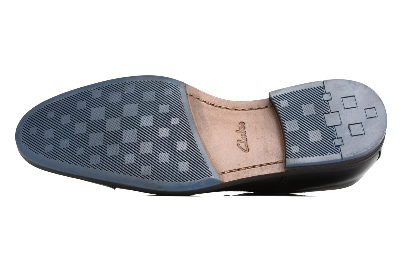Zapatos con cordones Clarks Prangley Cap Negro vista de arriba