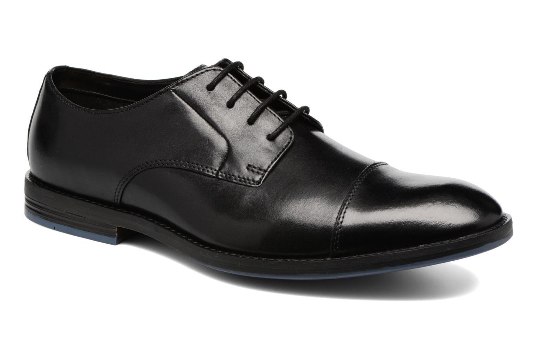 Zapatos con cordones Clarks Prangley Cap Negro vista de detalle / par