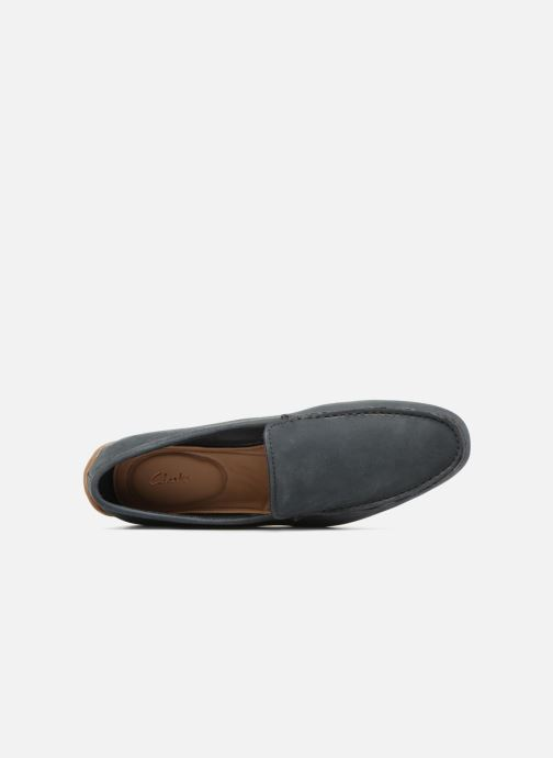 Mocassins Clarks Reazor Edge Blauw links