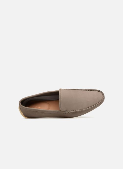 Loafers Clarks Reazor Edge Grey view from the left