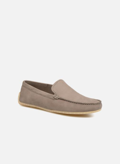 Loafers Clarks Reazor Edge Grey detailed view/ Pair view