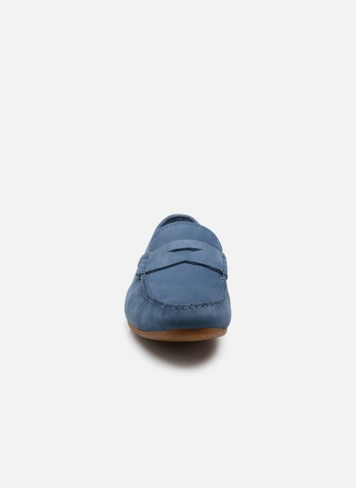 Loafers Clarks Reazor Drive Blue model view