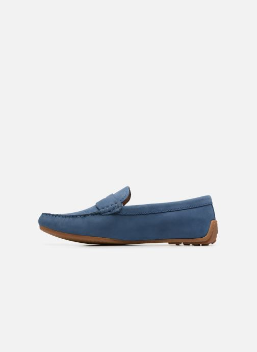 Loafers Clarks Reazor Drive Blue front view