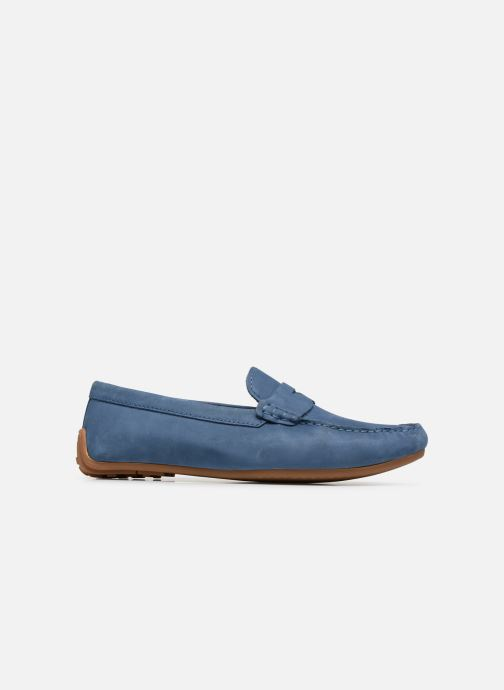 Loafers Clarks Reazor Drive Blue back view