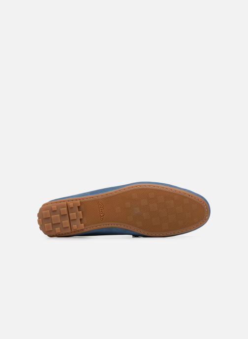 Loafers Clarks Reazor Drive Blue view from above