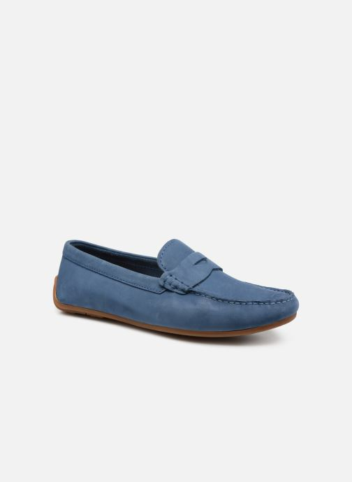 Loafers Clarks Reazor Drive Blue detailed view/ Pair view