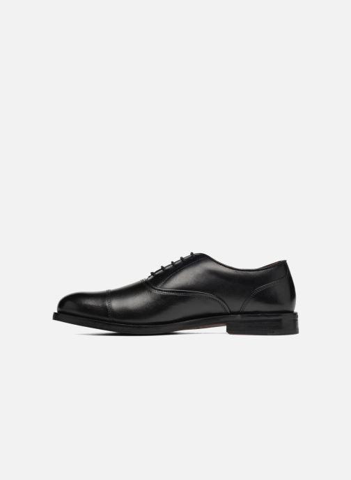 Zapatos con cordones Clarks Coling Boss Negro vista de frente