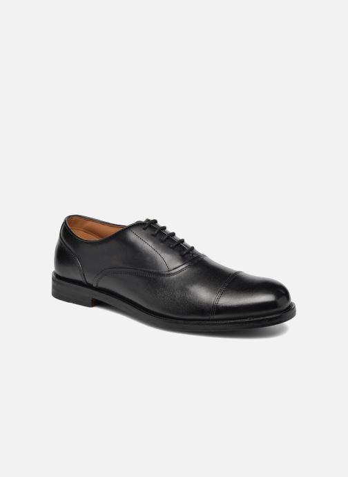 Zapatos con cordones Clarks Coling Boss Negro vista de detalle / par