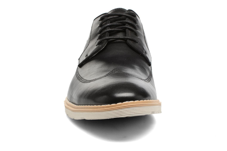 Veterschoenen Clarks Gambeson Style Zwart model