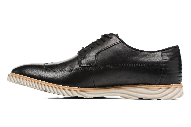 Veterschoenen Clarks Gambeson Style Zwart voorkant