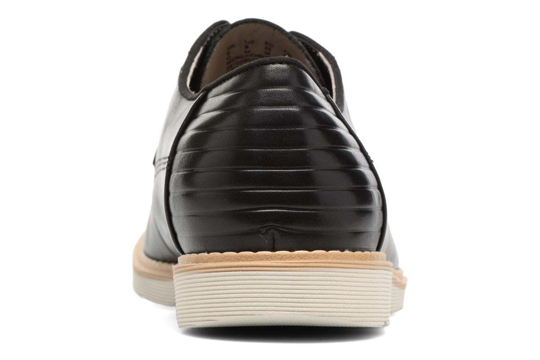Veterschoenen Clarks Gambeson Style Zwart rechts