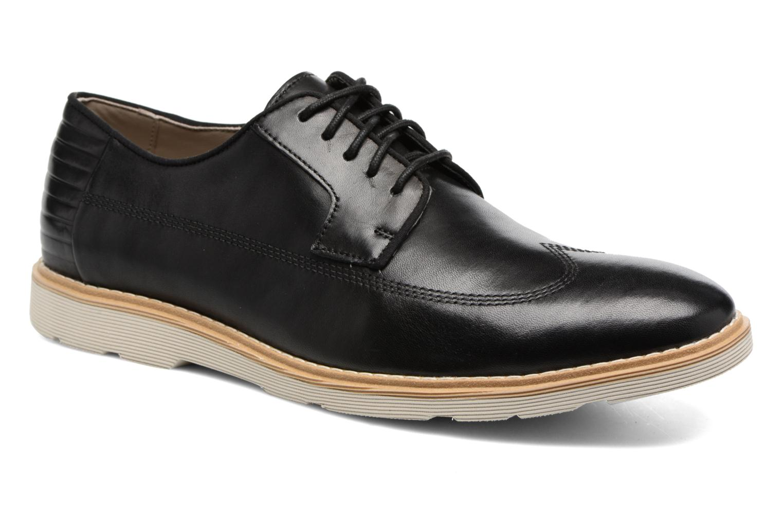 Veterschoenen Clarks Gambeson Style Zwart detail