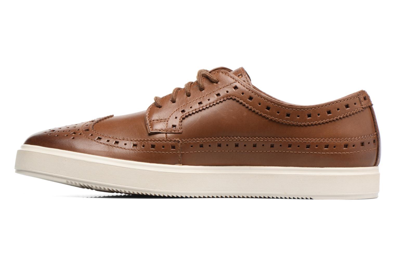 Chaussures à lacets Clarks Calderon Limit Marron vue face