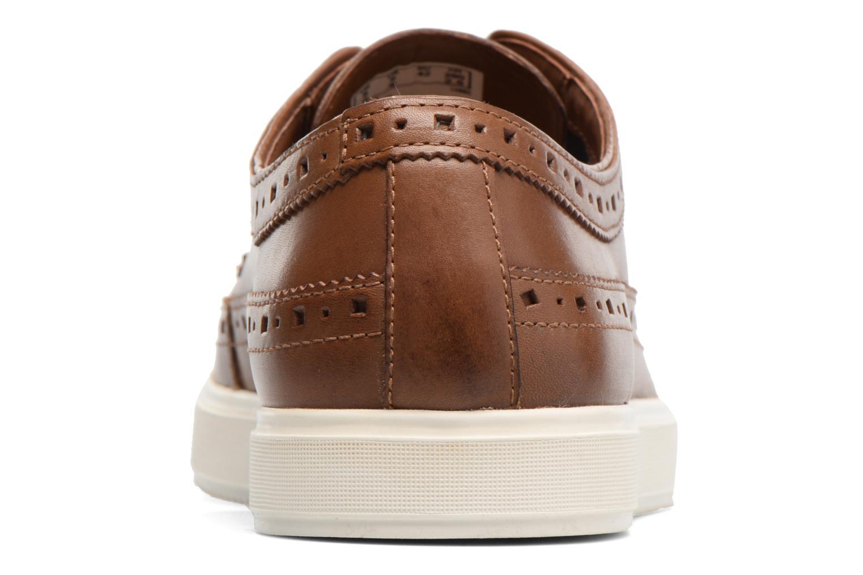 Chaussures à lacets Clarks Calderon Limit Marron vue droite