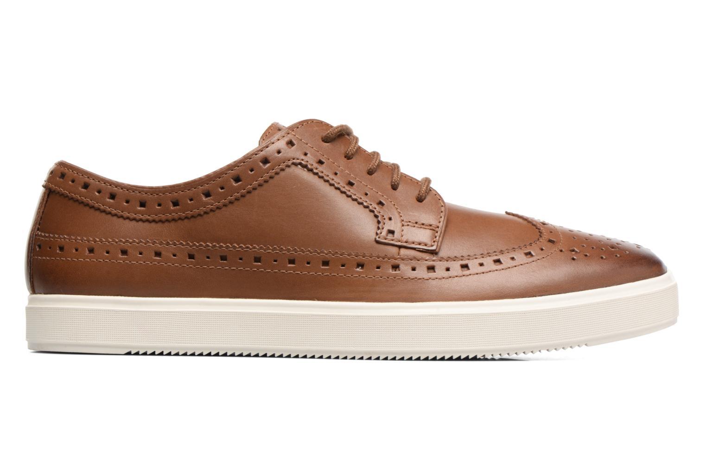 Chaussures à lacets Clarks Calderon Limit Marron vue derrière