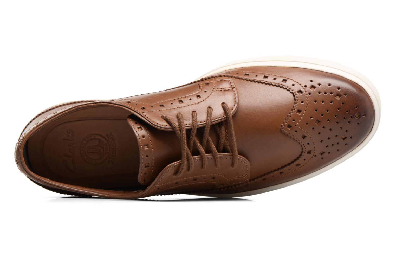 Chaussures à lacets Clarks Calderon Limit Marron vue gauche