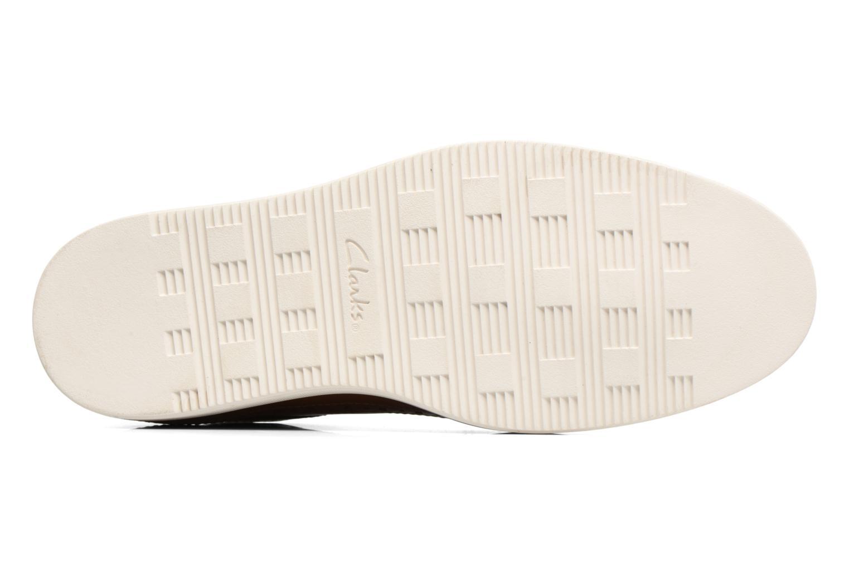 Chaussures à lacets Clarks Calderon Limit Marron vue haut