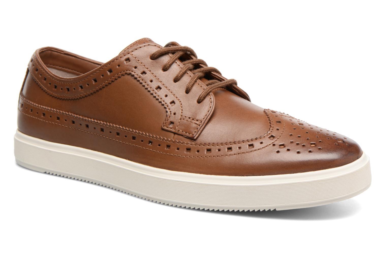 Chaussures à lacets Clarks Calderon Limit Marron vue détail/paire