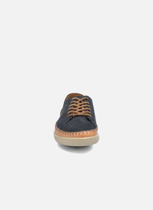 Chaussures à lacets Clarks Veho Edge Bleu vue portées chaussures