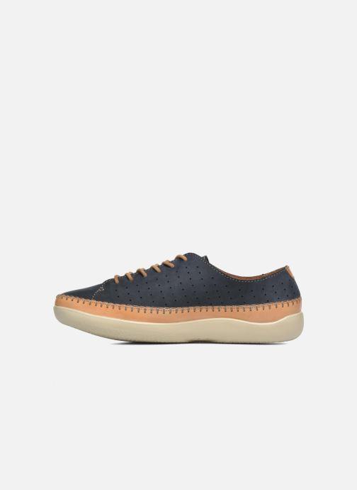 Chaussures à lacets Clarks Veho Edge Bleu vue face