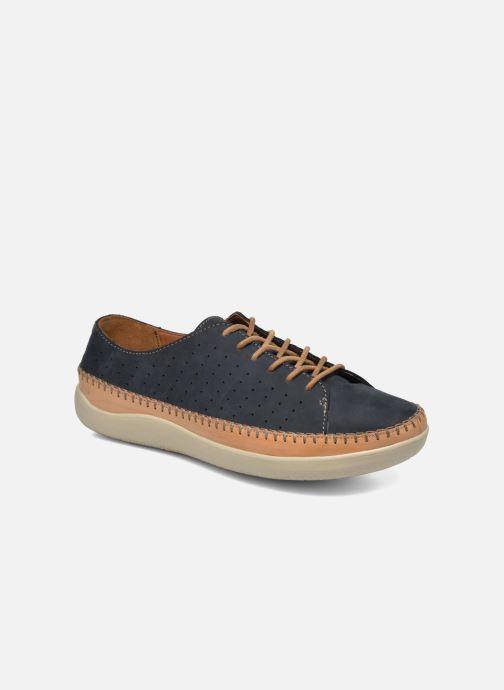 Chaussures à lacets Clarks Veho Edge Bleu vue détail/paire