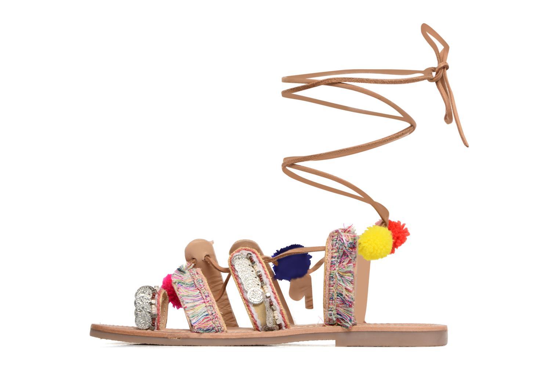 Sandales et nu-pieds Les Tropéziennes par M Belarbi Orient Multicolore vue face