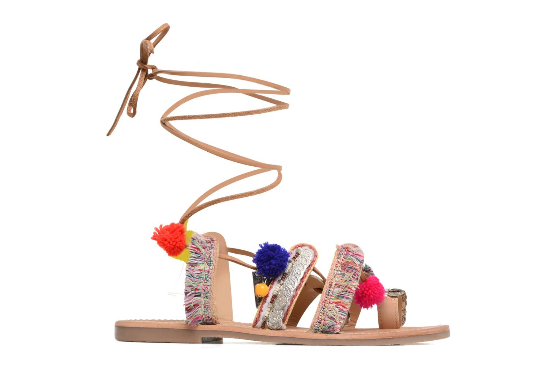 Sandales et nu-pieds Les Tropéziennes par M Belarbi Orient Multicolore vue derrière