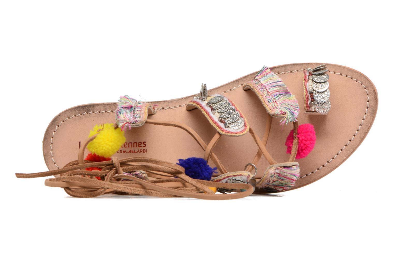 Sandales et nu-pieds Les Tropéziennes par M Belarbi Orient Multicolore vue gauche