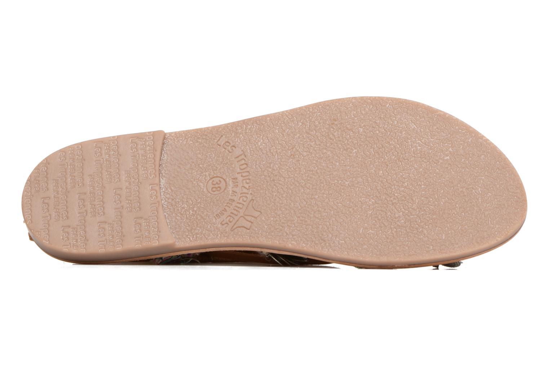 Sandales et nu-pieds Les Tropéziennes par M Belarbi Orient Multicolore vue haut