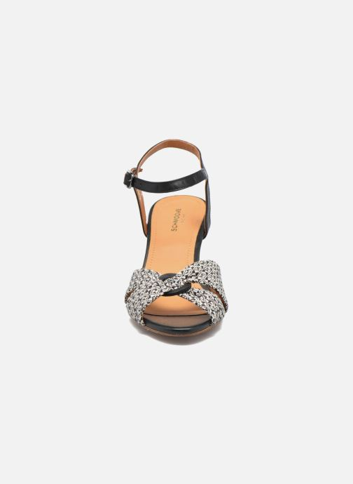Sandales et nu-pieds Schmoove Woman Pegase Sandal Noir vue portées chaussures
