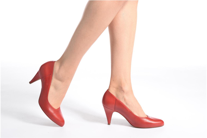 Escarpins Schmoove Woman Odissey Pump Rouge vue bas / vue portée sac