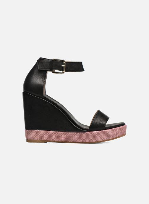 Sandales et nu-pieds Anaki Wave Noir vue derrière