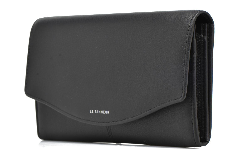Portemonnaies & Clutches Le Tanneur VALENTINE Porte-monnaie long anti-RFID schwarz schuhe getragen