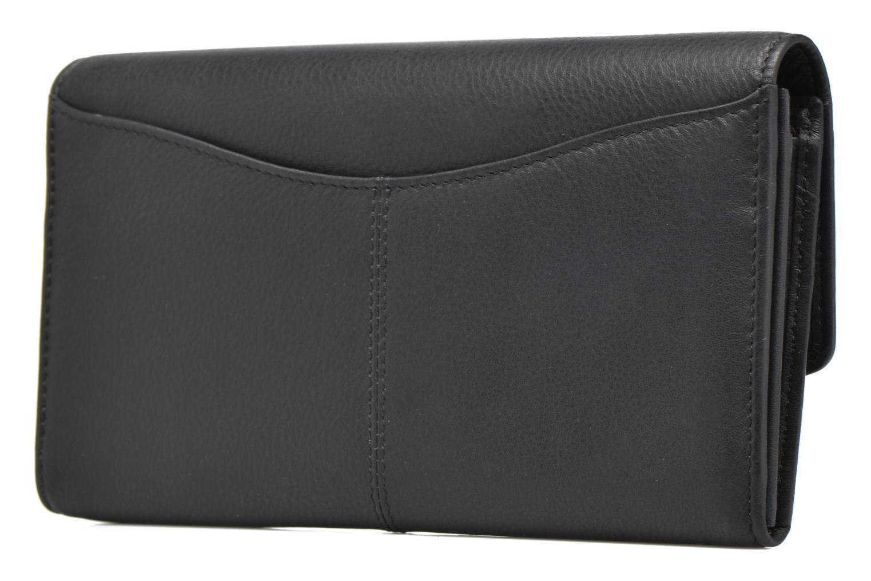 Portemonnaies & Clutches Le Tanneur VALENTINE Porte-monnaie long anti-RFID schwarz ansicht von rechts