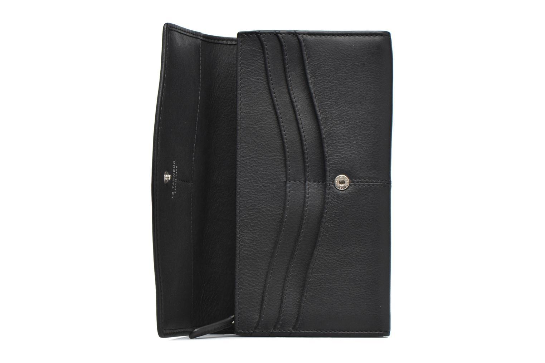 Portemonnaies & Clutches Le Tanneur VALENTINE Porte-monnaie long anti-RFID schwarz ansicht von hinten