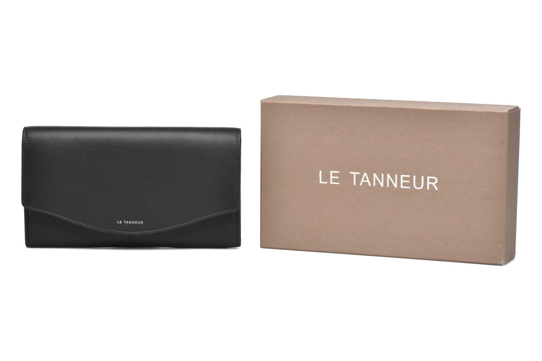 Portemonnaies & Clutches Le Tanneur VALENTINE Porte-monnaie long anti-RFID schwarz detaillierte ansicht/modell