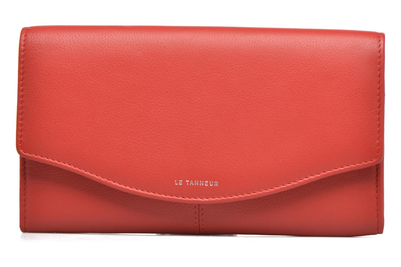 Wallets & cases Le Tanneur VALENTINE Porte-monnaie long anti-RFID Red model view