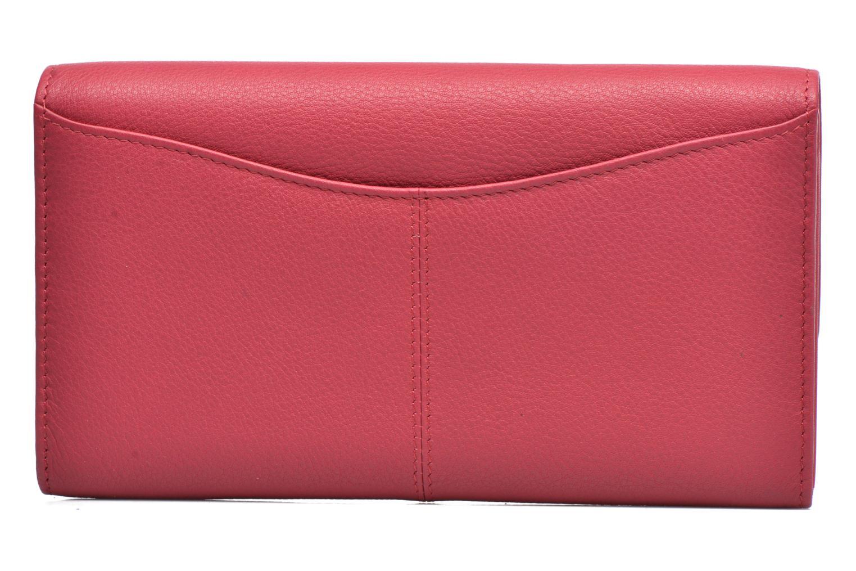 Wallets & cases Le Tanneur VALENTINE Porte-monnaie long anti-RFID Pink front view