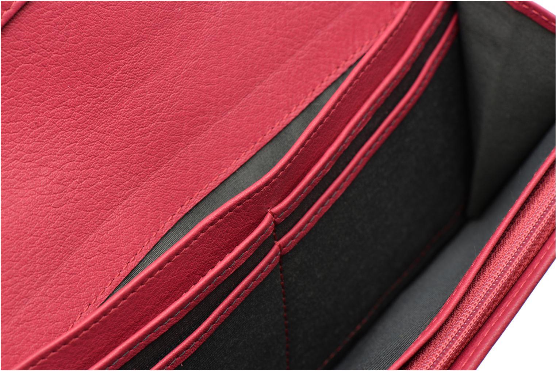 Wallets & cases Le Tanneur VALENTINE Porte-monnaie long anti-RFID Pink back view