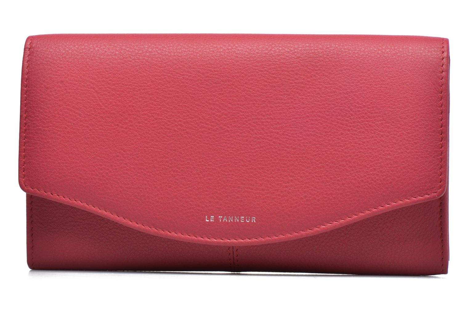 Wallets & cases Le Tanneur VALENTINE Porte-monnaie long anti-RFID Pink view from the left
