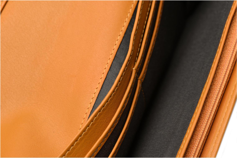 Wallets & cases Le Tanneur VALENTINE Porte-monnaie long anti-RFID Yellow back view