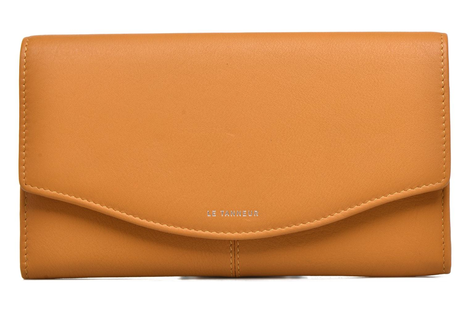 Wallets & cases Le Tanneur VALENTINE Porte-monnaie long anti-RFID Yellow view from the left